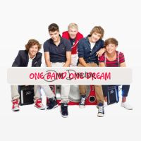 One band, one dream, One Direction by micamoneo