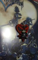KH - Shadow Heartless Charm by SarahKahlan