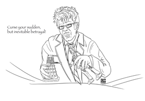 Doctor Who x Firefly Lineart by jeminabox