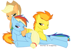 Rainbow Dash Really Likes Girls by Rainbow-Smashed