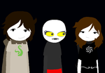 OPEN COLLAB: Toby and Beth meeting your fantroll by MissErinKirkland