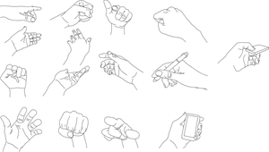 Hand References : 1 by Hrdcoreartist