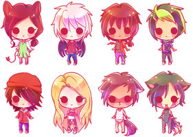 .: [Comm] Pagedoll Batch#3 :. by marianapiki