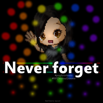 Never forget by Fario-P