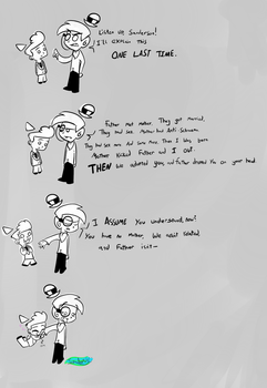 Anti-Cosmo and Sanderson's talk by MochiFries