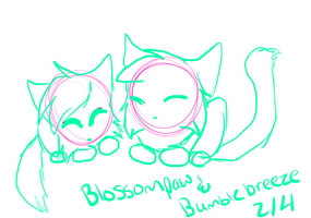 Blossompaw 2 WIP by kyuubigarner102