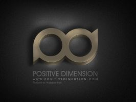POSITIVE DIMENSION BAND LOGO by muddassir