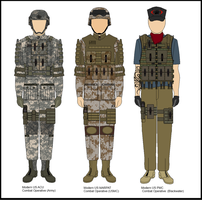 Modern US Military by Milosh--Andrich