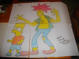 THE SIMPSONS: CAPE FEARE by Harley-Jay