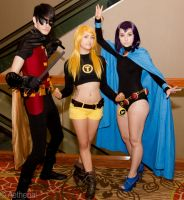 Teen Titans Go! by Aether-Shadow