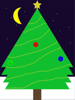 Christmas Tree Walpaper by MetalMindSam