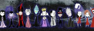 Disney Villains by ScorpionsKissx