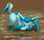 Colouring - Glaceon by Silverbirch
