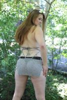Chainmaille Dress Back View by Sparhawk718