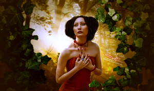 The Red Lady by HayleyGuinevere