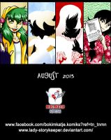 BOKIMKATJE KOMIKS AUGUST AD 2013 by lady-storykeeper