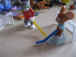 Tom and Jerry Hokey Set by NewMoon-Dragoness