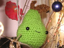 amigurumi pear by kamchama-karin