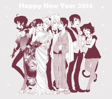 Happy New Year again by Moemai