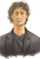 Neil Gaiman by Blue-Carrot-Unmei