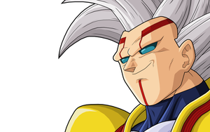 Baby Vegeta 3rd form by drozdoo