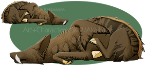 Ondyne Sleep by BongoWolf