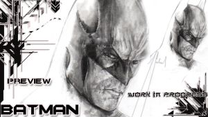 BATMAN:Arkham Asylum work in progress#1 (zoom) by GabrielArtist