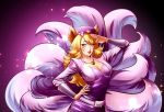 Commission: Ahri popstar from LoL by ThanhMieu