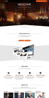 Goddess - One Page Template by webdesigngeek