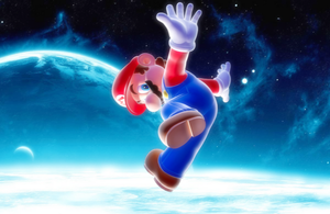 Super Mario in Outer Space by Legend-tony980