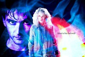 The Doctor And Bad Wolf by whovianmiss
