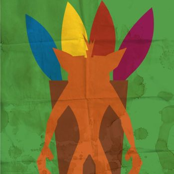 Crash Bandicoot - Minimalist poster by WantedRabbit-Art