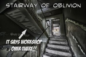Stairway of Oblivion HDR workshop by wchild
