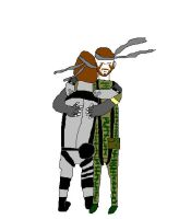 Two Snakes hugging for Linkuya by MCPZR