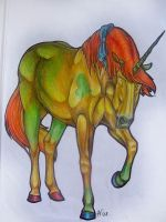 AT: Unicorn by branka42