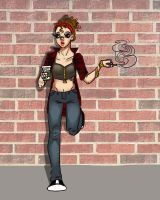 hipster marcie - for erica by SkaterSkittle