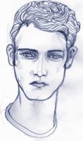 Study for a boys face by lienertje