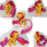 Autumn Breeze G4 Custom Pony by mayanbutterfly