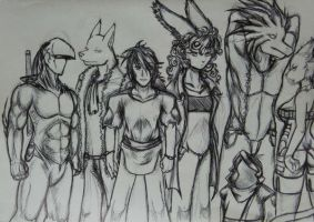 the Team by Jreeds