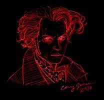 Sweeney Todd sketch by Cor104