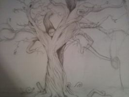 unfinished organ tree, 2011 by xxveganpunkxx