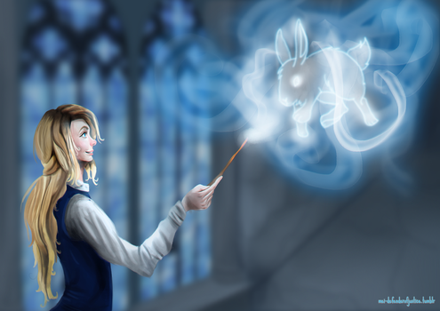 Expecto Patronum! by MichaellaMEstreano