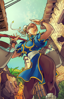 Chun Li by HaphazardMachine