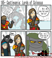 Castlevania: Lords of Colossus by BrokenTeapot