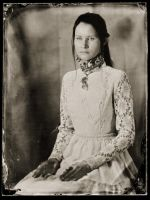 A real ambrotype of my beloved by ChanceZero