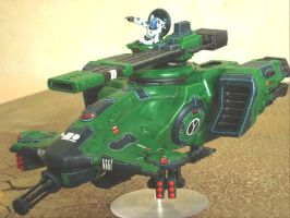 Longstrike Tau Hammerhead by GeorgeFah