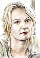 Jennifer Morrison mini-portrait by whu-wei
