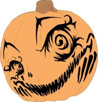 Drayok pumpkin contest entry by Cayys