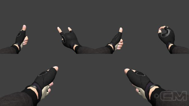 FPS hands by contmike