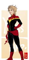 Captain Marvel by Maiss-Thro